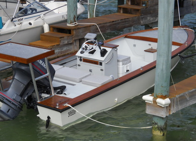 2013-Boatworks - Restoration of a 1988 Willy Roberts Wooden Flats Fishing Skiff