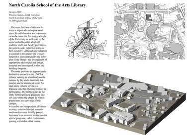 North Carolina School of the Arts Library