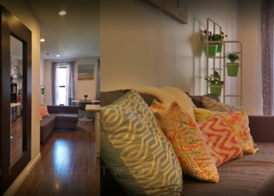 2 separate apartment renovations