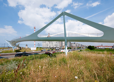 Footbridge in Knokke