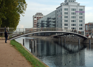 3 footbridges Strasbourg