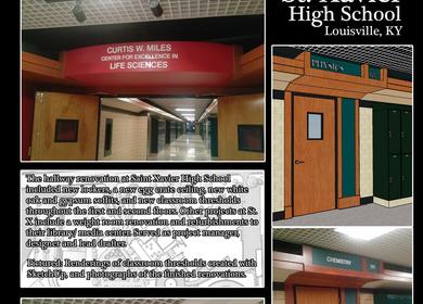 Saint Xavier High School Hall/ Classroom Renovation