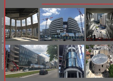 Garennes office buildings - Building Kleber (Paris):