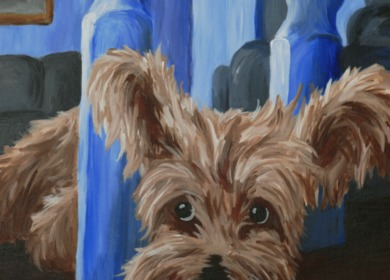 Cairn Terrier Painting