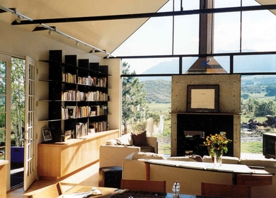 A Ranch House in the San Juan Mountains