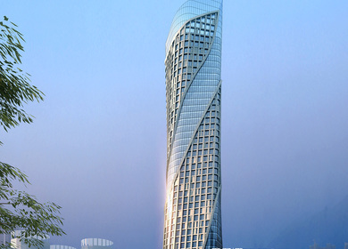 Qian Shan Office Landmark Zhuhai – China
