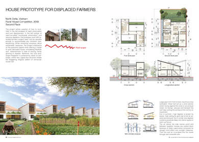HOUSE PROTOTYPE FOR DISPLACED FARMERS