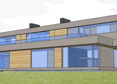 2013 bioclimatic house. 640 m2.