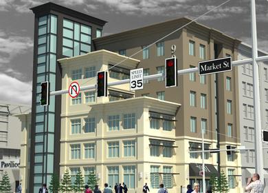 Meridian Street Facade Development