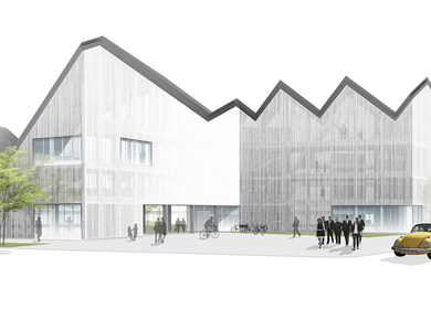Center for the Development of Creative Projects, Almere Haven. Netherlands