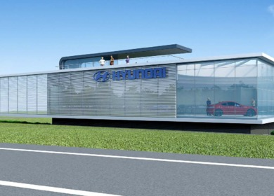 HYUNDAI DE - Workshop and Showroom