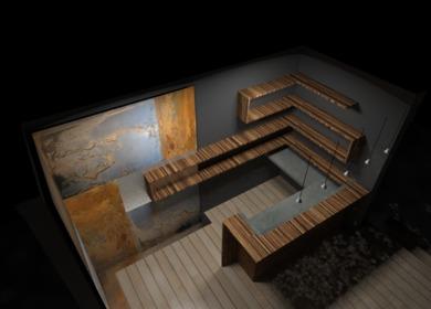 Woodland Hills Home Bar Design