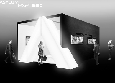 ARTASYLUM stand for art-fair meeting