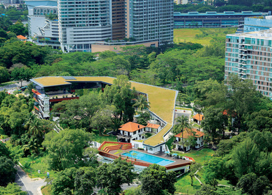 Four Acres Singapore: A dialogue with site and context