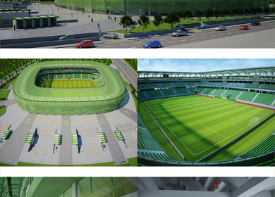 The new stadium of Ferencváros