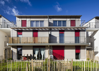 A Sustainable Neighborhood in Nantes