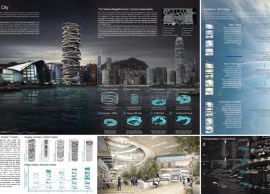Adapt - Arcology SkyScraper of Hong Kong