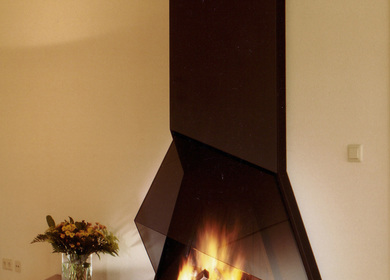 Contemporary Fireplace/ Cheminée contemporaine