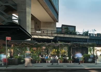 The Standard Hotel Pergola