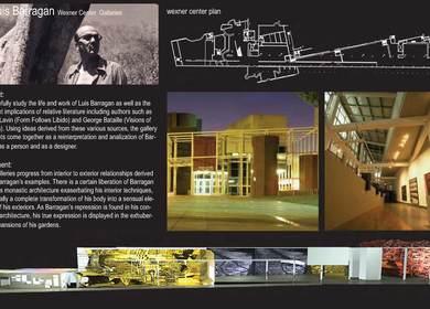 Exhibition Project (collegiate work)