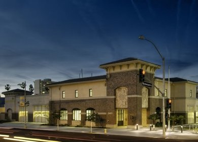 Los Angeles Fire Station No. 13 LEED-NC Gold
