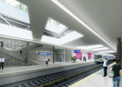 Metro Station Sofia - Competition Entry