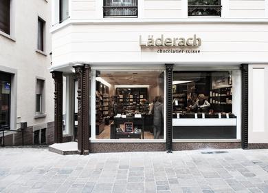 Läderach - swiss chocolate store