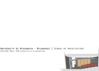 Lecture Hall Design
