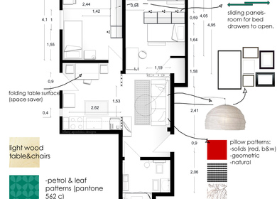 Apartment Interior Layout