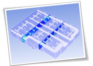 Indoor Building Flow Simulation using CFD