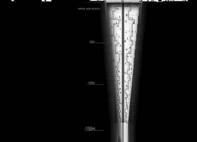 Extremely Negative | 色,空 | First Prize Night Club Hotel in Hong Kong Arquitectum Design Competition,