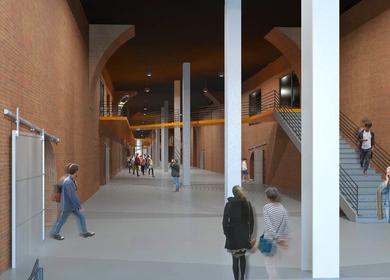 Terminal Stores Interior, WFNY