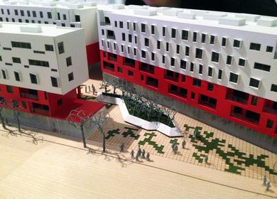 One Santa Fe Exhibition Model