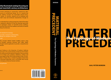 Material Precedent: Typopolgy of Modern Tectonics