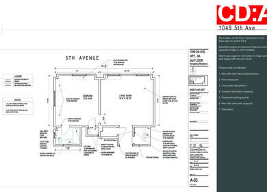 Construction Document - Sample Portfolio