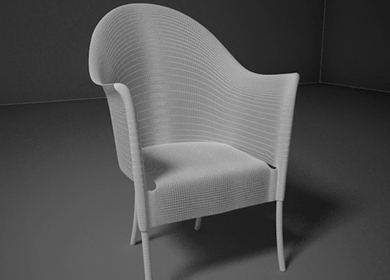 3ds Max Furniture Modeling