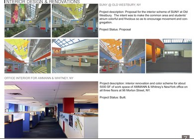 Interior Design & Renovation Projects