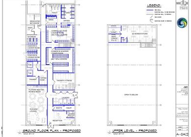 NY Cosmos facility planning
