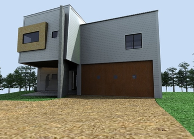 Triangle House #1