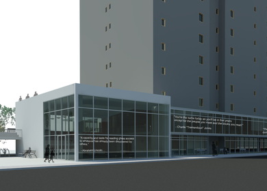 E-Library/Community Center