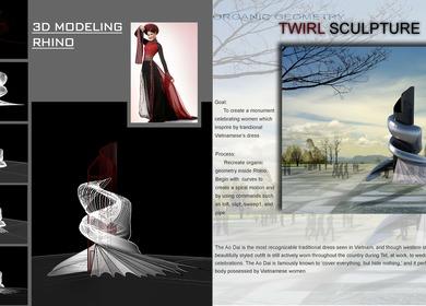 Twirl Sculpture
