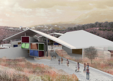 Under One Roof - Bioclimatic European School in Crete