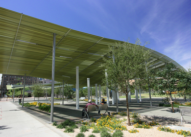 Phoenix Civic Space Shade Canopies