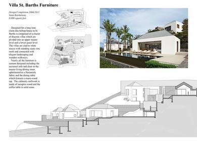 Villa St. Barths Furniture