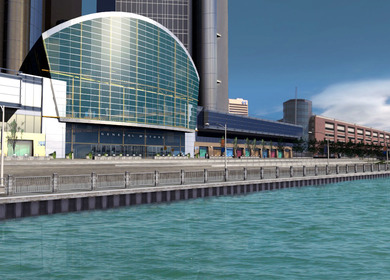 Renaissance Center Environment Creation
