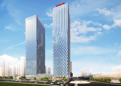 Yantai Towers, Mixed-use