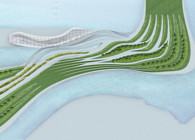 Undergraduate Thesis : Fluvial Behavior as an Approach to Architectural Design