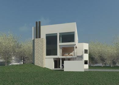 Clifford O. Reid Architect Small Modern House Designs