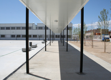 prefabricated high school