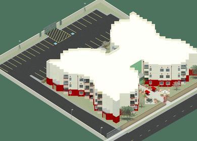 Johnson Senior Apartments - Renderings